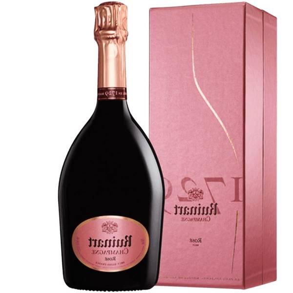 Ruinart champagne rosé